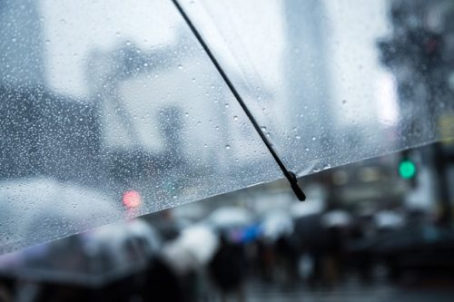 雨で気象病