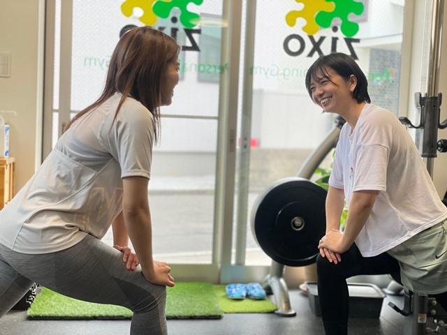 女性トレーナーで安心のトレーニングジム